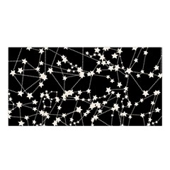 Constellations Satin Shawl by snowwhitegirl