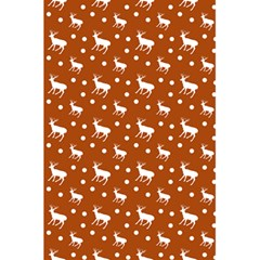 Deer Dots Orange 5 5  X 8 5  Notebook