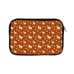 Deer Dots Orange Apple Ipad Mini Zipper Cases