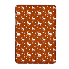 Deer Dots Orange Samsung Galaxy Tab 2 (10 1 ) P5100 Hardshell Case