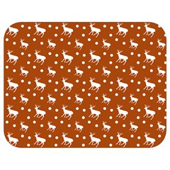 Deer Dots Orange Full Print Lunch Bag