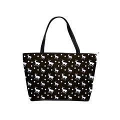 Deer Dots Brown Classic Shoulder Handbag