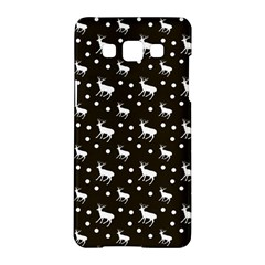 Deer Dots Brown Samsung Galaxy A5 Hardshell Case