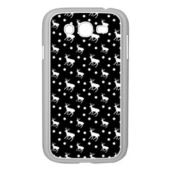 Deer Dots Black Samsung Galaxy Grand Duos I9082 Case (white)