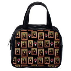Mona Lisa Frame Pattern Classic Handbag (one Side)