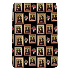 Mona Lisa Frame Pattern Removable Flap Cover (l)