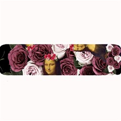 Mona Lisa Floral Black Large Bar Mats