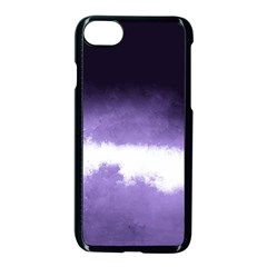 Ombre Apple Iphone 8 Seamless Case (black) by Valentinaart