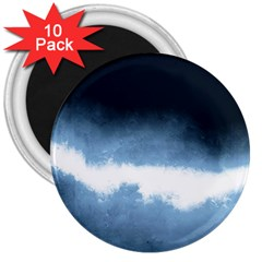 Ombre 3  Magnets (10 Pack)  by Valentinaart