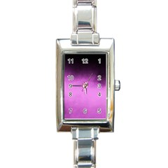 Ombre Rectangle Italian Charm Watch by Valentinaart