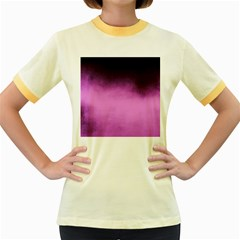 Ombre Women s Fitted Ringer T Shirt