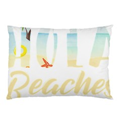 Hola Beaches 3391 Trimmed Pillow Case (two Sides) by mattnz