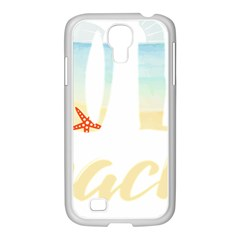 Hola Beaches 3391 Trimmed Samsung Galaxy S4 I9500/ I9505 Case (white)