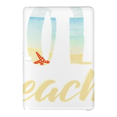 Hola Beaches 3391 Trimmed Samsung Galaxy Tab Pro 10 1 Hardshell Case