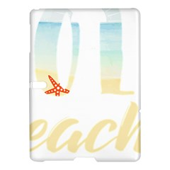 Hola Beaches 3391 Trimmed Samsung Galaxy Tab S (10 5 ) Hardshell Case