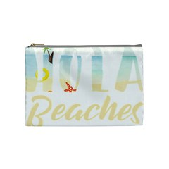 Hola Beaches 3391 Trimmed Cosmetic Bag (medium) by mattnz