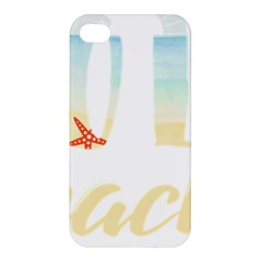 Hola Beaches 3391 Trimmed Apple Iphone 4/4s Hardshell Case