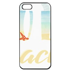 Hola Beaches 3391 Trimmed Apple Iphone 5 Seamless Case (black)
