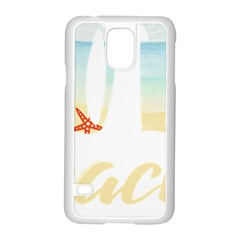 Hola Beaches 3391 Trimmed Samsung Galaxy S5 Case (white) by mattnz