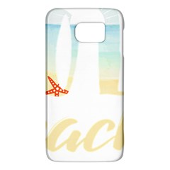 Hola Beaches 3391 Trimmed Samsung Galaxy S6 Hardshell Case  by mattnz