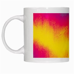 Ombre White Mugs by Valentinaart
