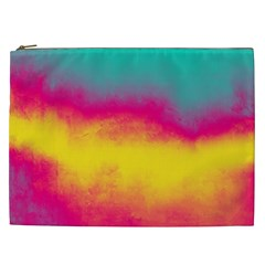 Ombre Cosmetic Bag (xxl) by Valentinaart