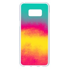 Ombre Samsung Galaxy S8 Plus White Seamless Case