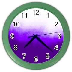 Ombre Color Wall Clock by Valentinaart