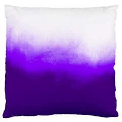 Ombre Large Cushion Case (one Side) by Valentinaart