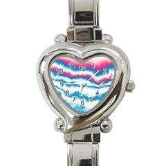 Ombre Heart Italian Charm Watch by Valentinaart