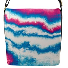 Ombre Flap Closure Messenger Bag (s)