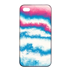 Ombre Apple Iphone 4/4s Seamless Case (black) by Valentinaart