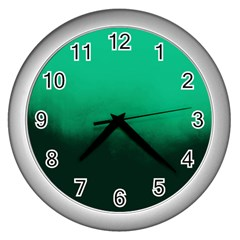Ombre Wall Clock (silver)