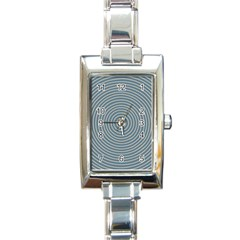 Concentration Rectangle Italian Charm Watch