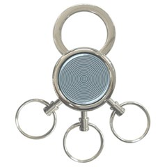 Concentration 3 Ring Key Chains