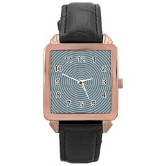 Concentration Rose Gold Leather Watch