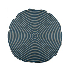 Concentration Standard 15  Premium Flano Round Cushions