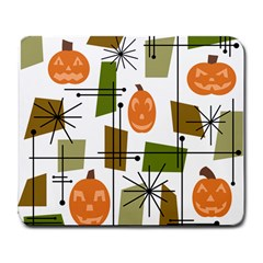 Halloween Mid Century Modern Large Mousepads by KayCordingly