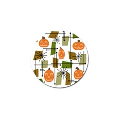 Halloween Mid Century Modern Golf Ball Marker (10 Pack) by KayCordingly