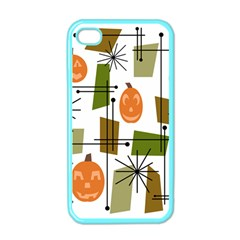 Halloween Mid Century Modern Apple Iphone 4 Case (color) by KayCordingly