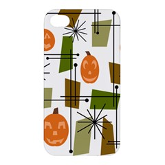 Halloween Mid Century Modern Apple Iphone 4/4s Hardshell Case