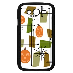 Halloween Mid Century Modern Samsung Galaxy Grand Duos I9082 Case (black) by KayCordingly
