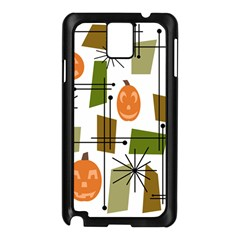 Halloween Mid Century Modern Samsung Galaxy Note 3 N9005 Case (black) by KayCordingly