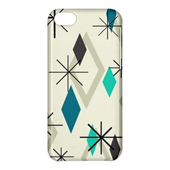 Atomic Era Diamonds (turquoise) Apple Iphone 5c Hardshell Case by KayCordingly
