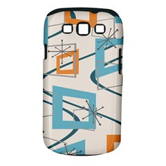 Minimalist Wavy Rectangles Samsung Galaxy S Iii Classic Hardshell Case (pc+silicone)