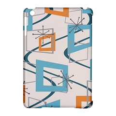 Minimalist Wavy Rectangles Apple Ipad Mini Hardshell Case (compatible With Smart Cover)