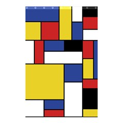 Mondrian Geometric Art Shower Curtain 48  X 72  (small)
