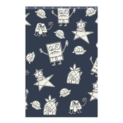 Doodle Bob Pattern Shower Curtain 48  X 72  (small)