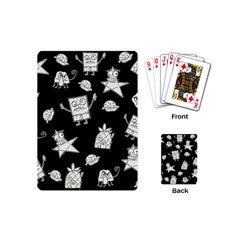 Doodle Bob Pattern Playing Cards (mini)
