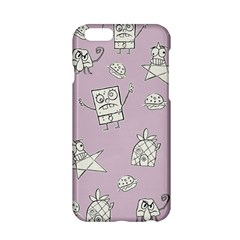 Doodle Bob Pattern Apple Iphone 6/6s Hardshell Case